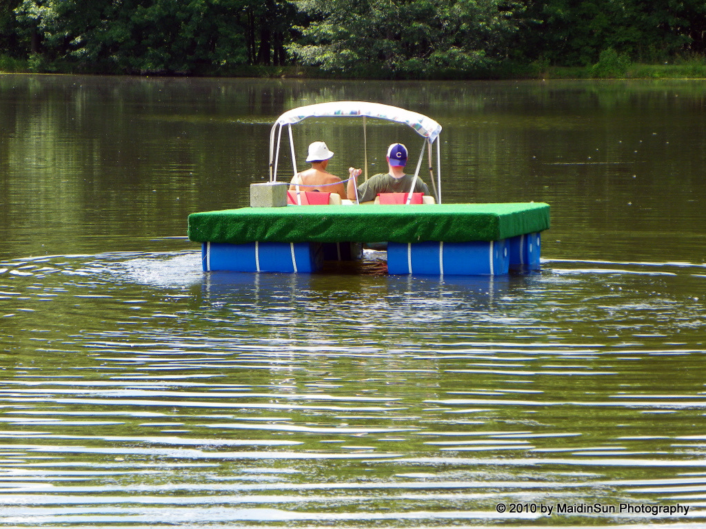 12 july 2010 life in the bogs for Floating fishing chair