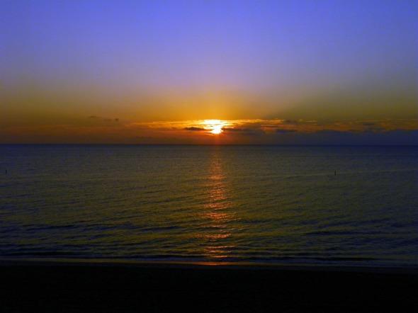 Today's sunrise