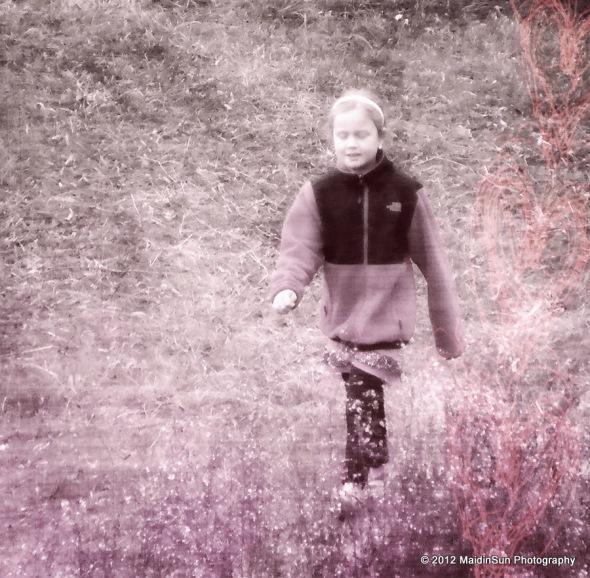 Emma in the meadow