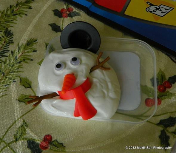 Because even a snowman built without snow should melt