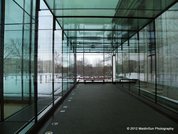 The Glass Box.  Cleveland Museum of Art.