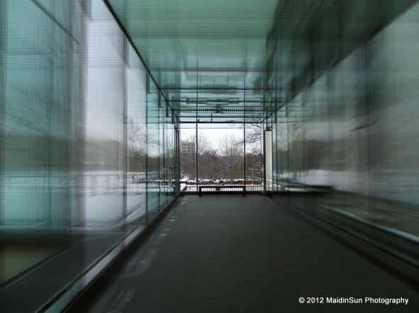Zooming through The Glass Box