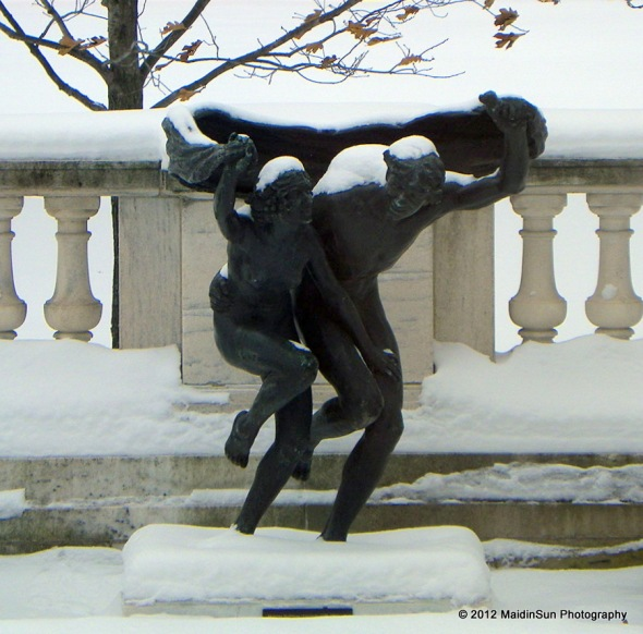 Sculpture at the Cleveland Museum of Art