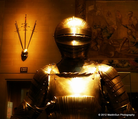 Because you can never have too many knights in shining armor.